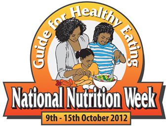 National Nutrition Week 2012